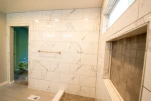 fully tile wall