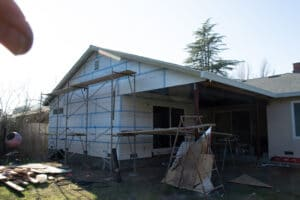 lath and foam for patio stucco
